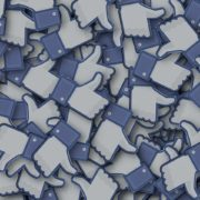 A pile of facebook likes