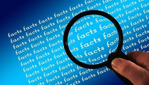 Facts About Social Media being zoomed in with a magnifying glass