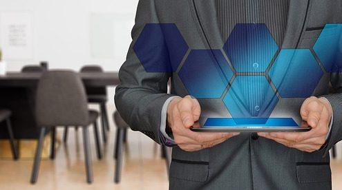 AR on a tablet device